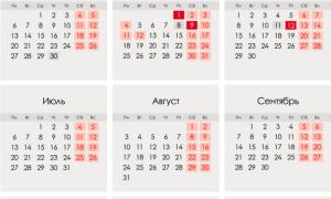 Державні свята в 2020 році в Росії: список по місяцях